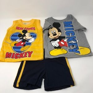 Disney Mickey Mouse 3-piece Outfit